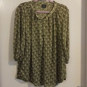 Tops - HELP RESCUE DOG/CANCER♡Sheer top 16/18 nwot